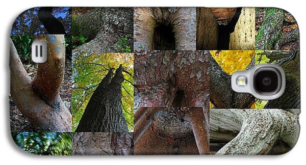 Tree Roots Galaxy S4 Cases - Human Forms in Nature Galaxy S4 Case by Juergen Roth