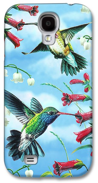 Cynthie Fisher Galaxy S4 Cases - Humming Birds Galaxy S4 Case by JQ Licensing
