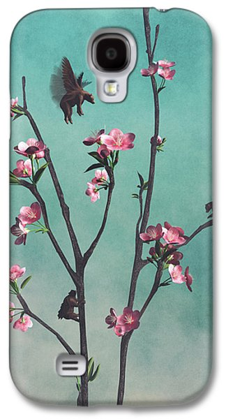 Hummingbears Galaxy S4 Case by Cynthia Decker