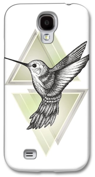 Hummingbird Galaxy S4 Case by Barlena