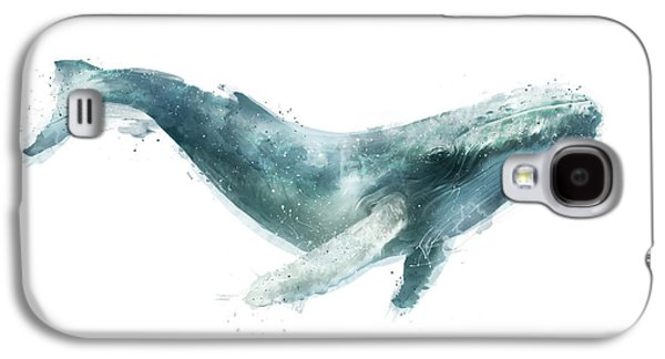 Humpback Whale From Whales Chart Galaxy S4 Case by Amy Hamilton