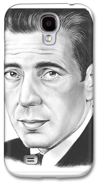 Humphrey Bogart Galaxy S4 Case by Greg Joens