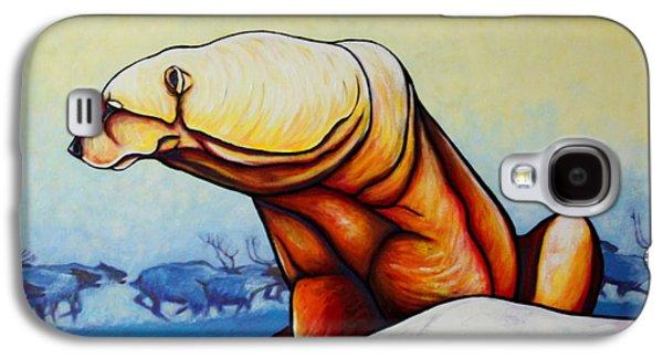 Hunger Burns - Polar Bear Galaxy S4 Case by Joe  Triano
