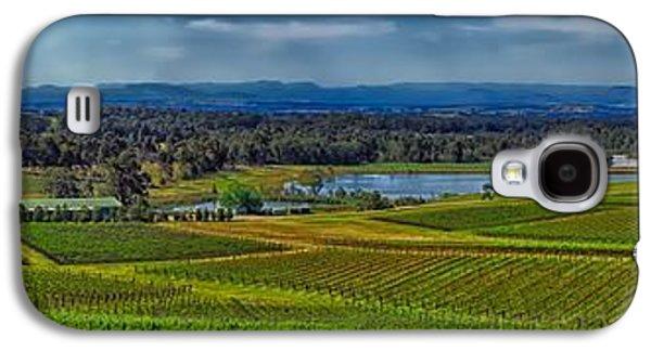 Hunter Valley Vineyards - Australia Galaxy S4 Case by Thinkrorbot