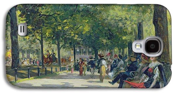 Hyde Park - London  Galaxy S4 Case by Count Girolamo Pieri Nerli