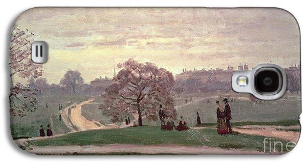Hyde Park Galaxy S4 Case by Claude Monet