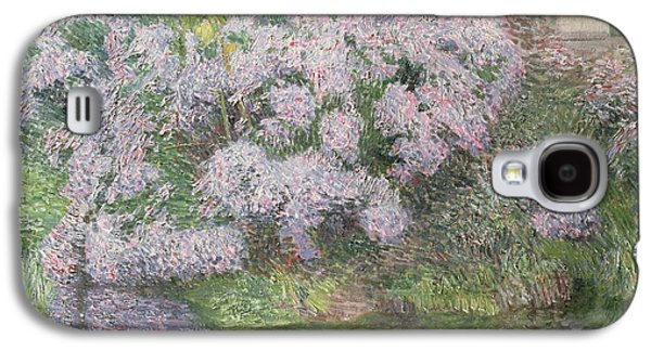 Hydrangeas On The Banks Of The River Lys Galaxy S4 Case by Emile Claus