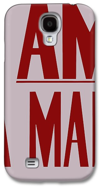 African-american Galaxy S4 Cases - I Am A Man Galaxy S4 Case by War Is Hell Store