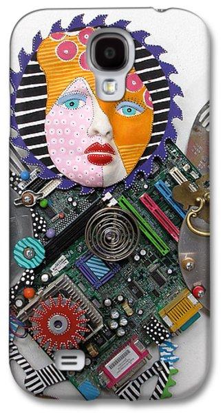 Father Sculptures Galaxy S4 Cases - I Am A Warrior Galaxy S4 Case by Keri Joy Colestock