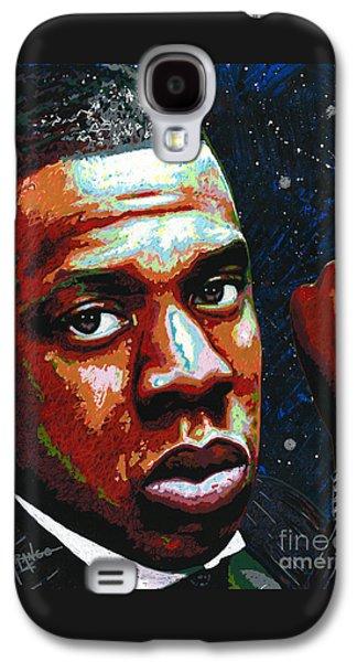 I Am Jay Z Galaxy S4 Case by Maria Arango
