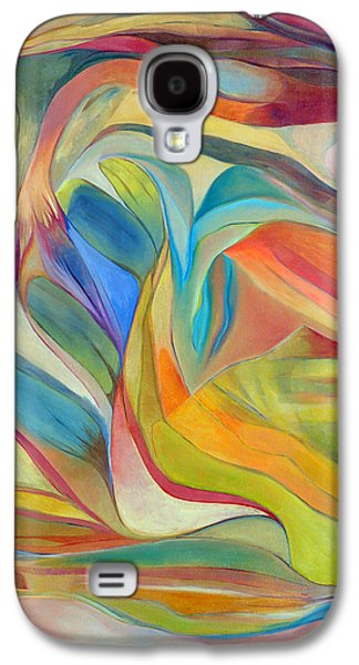 I Am The Universe Galaxy S4 Case by Linda Cull