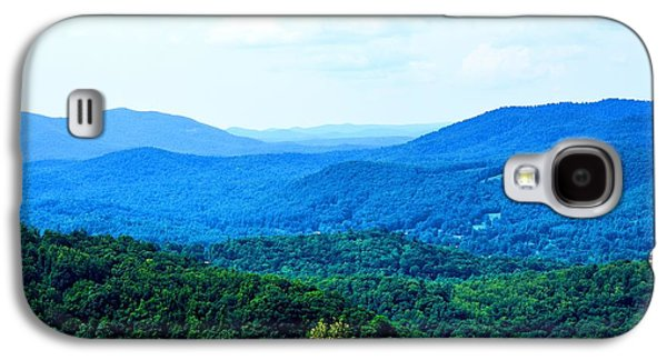 Landscapes Photographs Galaxy S4 Cases - I Can See For Miles And Miles Galaxy S4 Case by Lisa Wooten