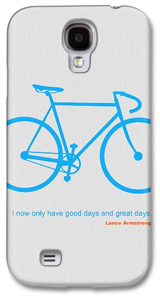 I Have Only Good Days And Great Days Galaxy S4 Case by Naxart Studio