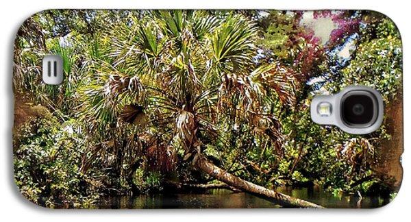Landscape Acrylic Prints Galaxy S4 Cases - I Love Palms Galaxy S4 Case by Sheri McLeroy