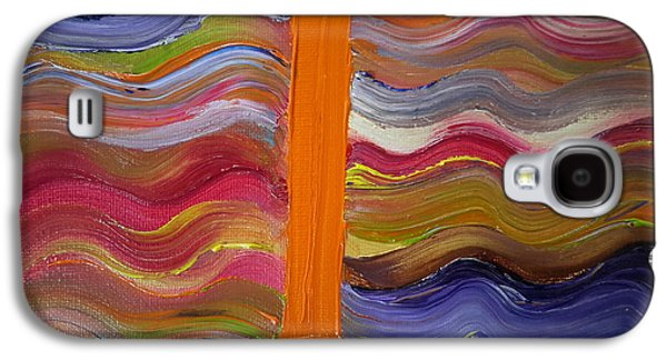 Normal Paintings Galaxy S4 Cases - I on a Normal Day Galaxy S4 Case by Cindy  Riley