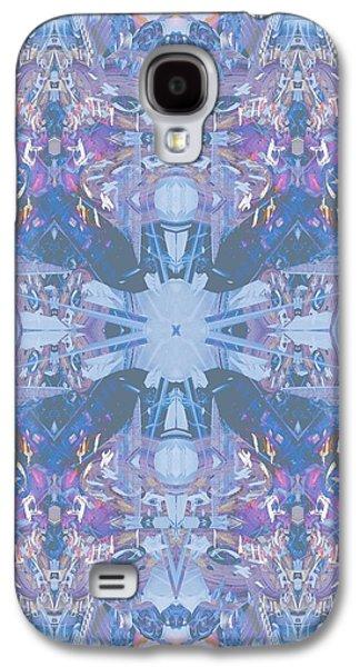 Geometric Digital Art Galaxy S4 Cases - I spy Galaxy S4 Case by Beth Travers