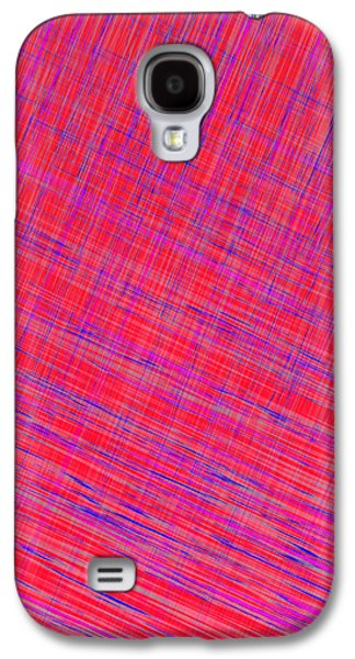 Digital Tapestries - Textiles Galaxy S4 Cases - I Thought it was Plaid Galaxy S4 Case by Suzi Freeman