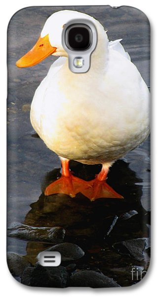 Original Art Photographs Galaxy S4 Cases - I Wish That I Had Duck Feet Galaxy S4 Case by Colleen Kammerer