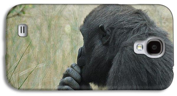 Gorilla Digital Galaxy S4 Cases - I  Wonder Galaxy S4 Case by Ernie Echols