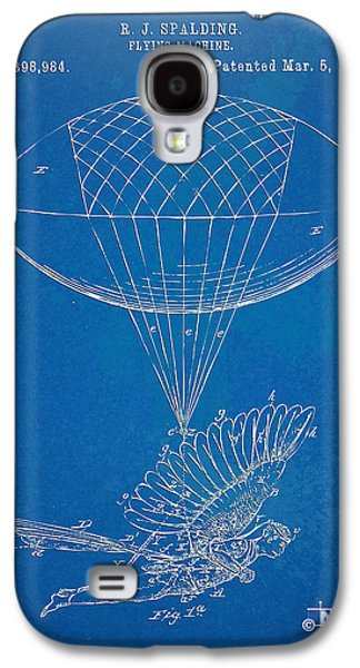 Engineer Galaxy S4 Cases - Icarus Airborn Patent Artwork Galaxy S4 Case by Nikki Marie Smith