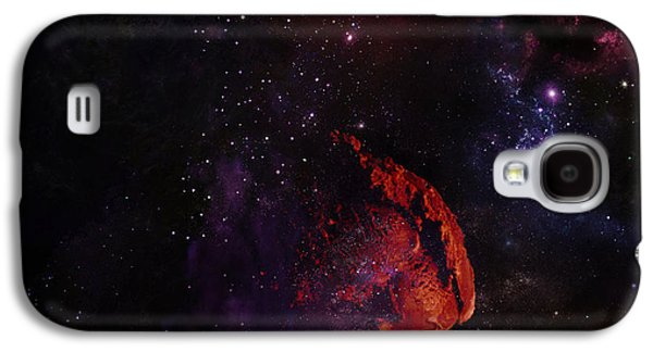 Sun Galaxy S4 Cases - Ice Space Galaxy S4 Case by Rrco