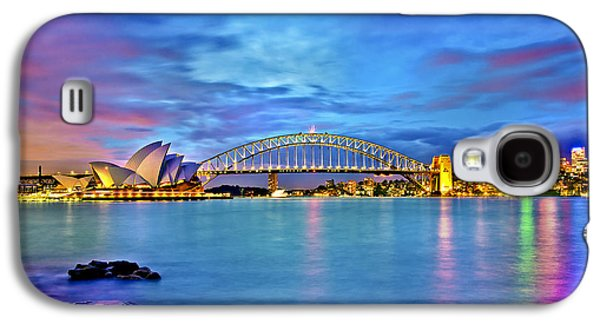 Icons Of Sydney Harbour Galaxy S4 Case by Az Jackson