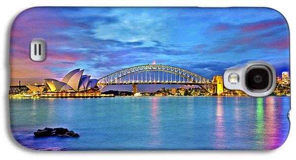 Business Galaxy S4 Cases - Icons Of Sydney Harbour Galaxy S4 Case by Az Jackson