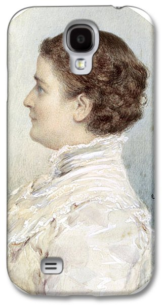 Ida Mckinley, First Lady Galaxy S4 Case by Science Source