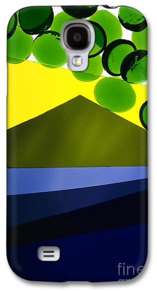 Grapes Art Deco Galaxy S4 Cases - Illuminations 82 Galaxy S4 Case by Barbara Chase