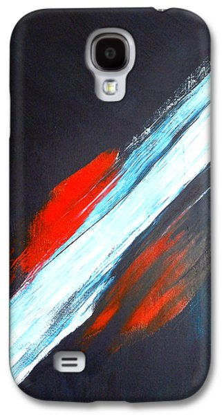Interplanetary Space Paintings Galaxy S4 Cases - Im Feeling Very Still Galaxy S4 Case by Ivy Burley