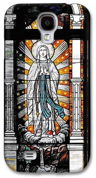 Holy Mother Galaxy S4 Cases - Immaculate Conception San Diego Galaxy S4 Case by Christine Till