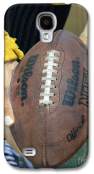 Football Photographs Galaxy S4 Cases - Immaculate Reception Galaxy S4 Case by David Bearden