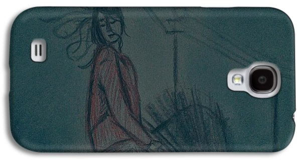 Girl Galaxy S4 Cases - Immersed in the moment Galaxy S4 Case by Vineeth Menon