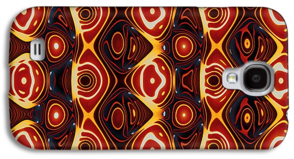 Algorithmic Abstract Galaxy S4 Cases - Imperfect Repetition No. 1 Galaxy S4 Case by Mark Eggleston