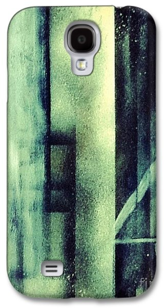 Jail Paintings Galaxy S4 Cases - Imprisoned - Morning Light Galaxy S4 Case by Sarah  Rachel