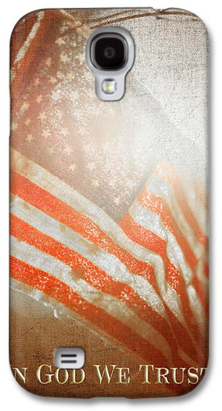 Recently Sold -  - 4th July Galaxy S4 Cases - In God We Trust III Galaxy S4 Case by Charrie Shockey