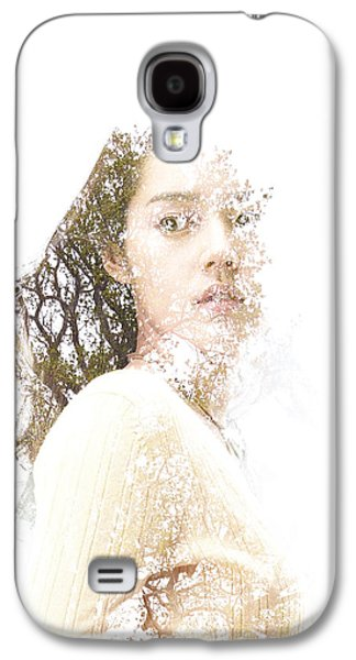 Girl Galaxy S4 Cases - In My Mind Galaxy S4 Case by Bojan Jevtic