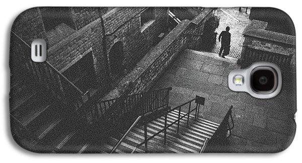 In Pursuit Of The Devil On The Stairs Galaxy S4 Case by Joseph Westrupp