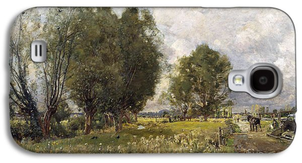 In The Country Of Constable  Galaxy S4 Case by Sir David Murray