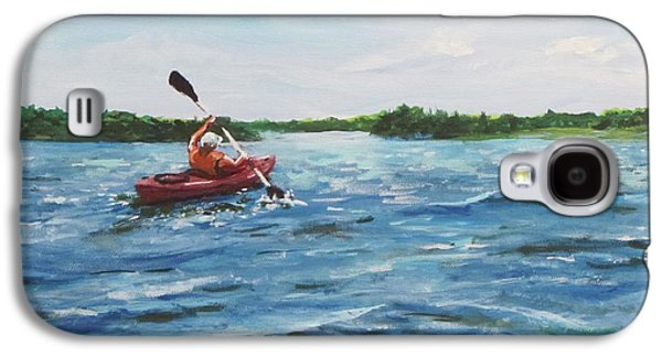 In The Kayak Galaxy S4 Case by Jack Skinner