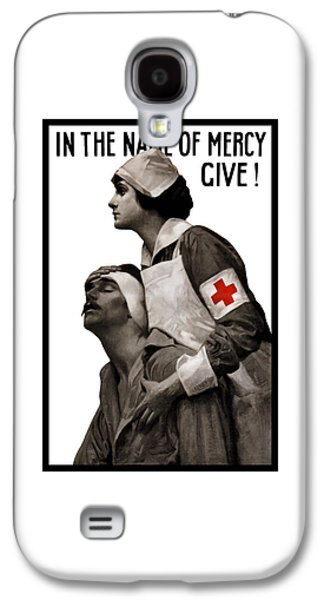 Vet Galaxy S4 Cases - In The Name Of Mercy Give Galaxy S4 Case by War Is Hell Store