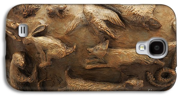 Bobcats Reliefs Galaxy S4 Cases - In the Wild - Detail Galaxy S4 Case by Dawn Senior-Trask