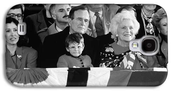Inauguration Of George Bush Sr Galaxy S4 Case by H. Armstrong Roberts/ClassicStock
