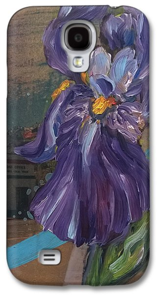 Independance Mixed Media Galaxy S4 Cases - Independance in Spring Galaxy S4 Case by Andrea LaHue