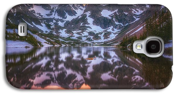 Indian Peaks Reflection Galaxy S4 Case by Darren  White