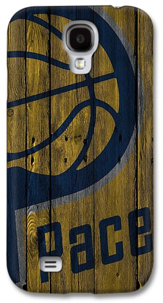 Indiana Pacers Wood Fence Galaxy S4 Case by Joe Hamilton