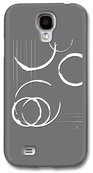Abstract Digital Mixed Media Galaxy S4 Cases - Indifference Graphic Galaxy S4 Case by Melissa Smith