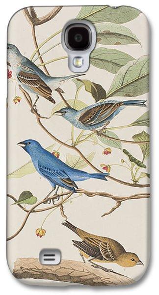 Indigo Bird Galaxy S4 Case by John James Audubon
