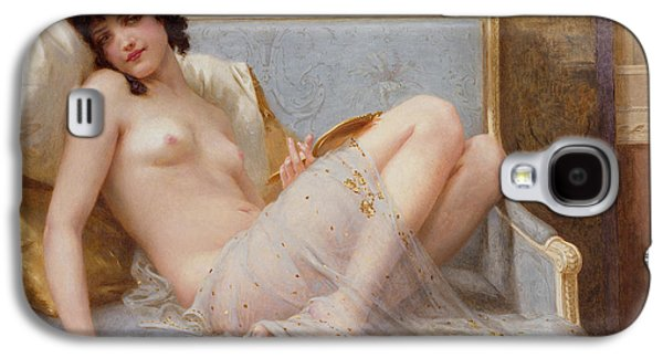 Chair Galaxy S4 Cases - Indolence Galaxy S4 Case by Guillaume Seignac