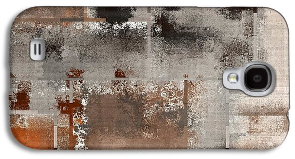 Industrial Digital Galaxy S4 Cases - Industrial Abstract - 01t02 Galaxy S4 Case by Variance Collections